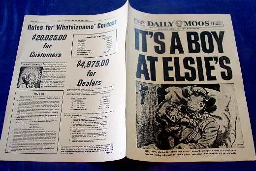 IT�S A BOY AT ELSIE�S DAILY MOOS Newspaper ncs-112