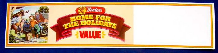 ELSIE BORDEN HOME FOR THE HOLIDAY WALL SIGN ncs-116  at stufFORsale.ecrater.com