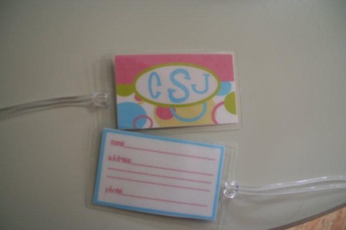 mod pink luggage tag (2)
