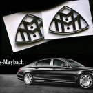 "Mercedes-Benz 2x A2228171200 Maybach Side ""M"" Emblems SET, W222, OE (Genuine)"