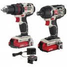 Porter-Cable 20-Volt Max* Cordless 2-Tool Combo Kit With 2 Batteries RA48794