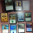 Magic the gathering 319 card lot: All Unplayed rares foils mythics promos & HTF lands