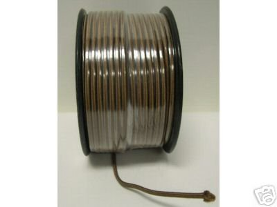 Lamp parts: 250 feet brown rayon lamp cord (TR-921)