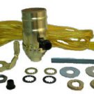 lamp part kits - gold cord, 3-way socket  TD-396 Gold
