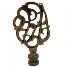 Lamp parts: ANTIQUE BRASS LAMP LAMP SHADE FINIAL  AB-8