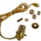 Lamp parts: pre-wired bottle adaptor lamp kits