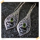 Best Product Antique Stone Peridot 925 Silver Earrings original from Bali Indonesia