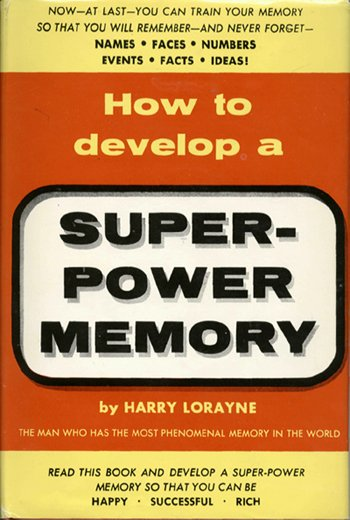 How to develop a Super Power Memory E-book