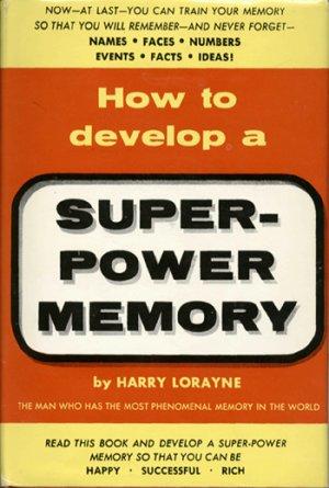 How to develop a Super Power Memory E-book