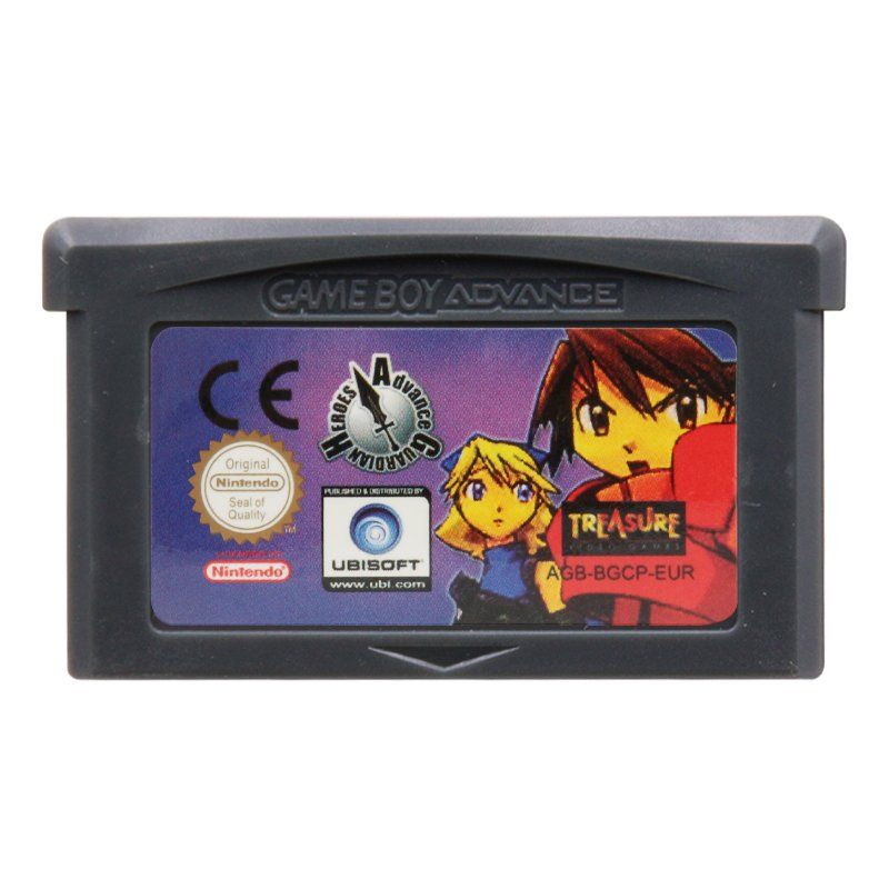 Advance Guardian Heroes Gameboy Advance GBA Cartridge Card Handheld Console EUR Version