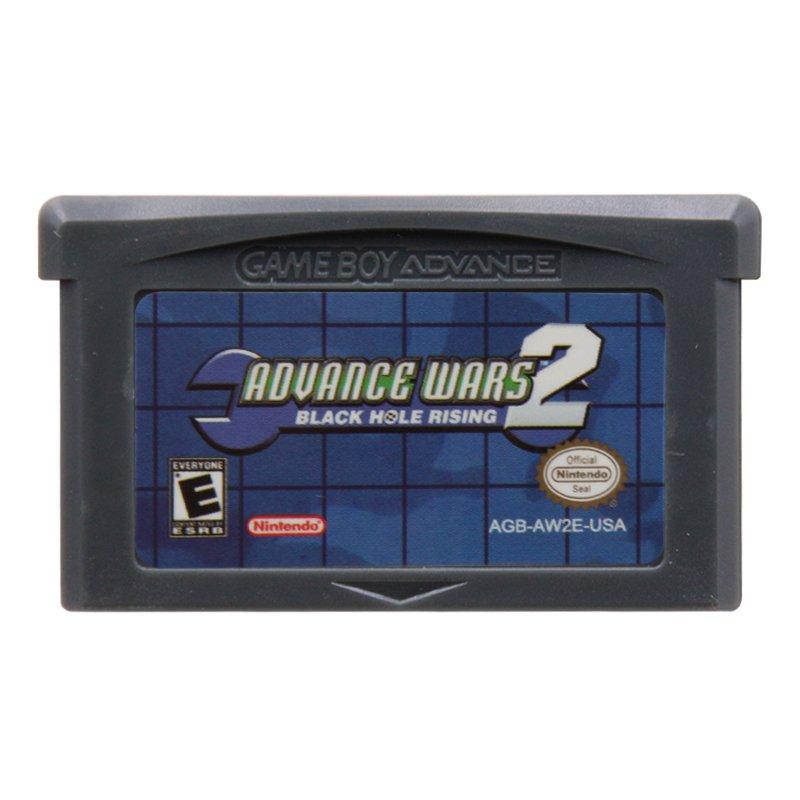 Advance Wars 2 Black Hole Rising Gameboy Advance GBA Cartridge Card Handheld Console