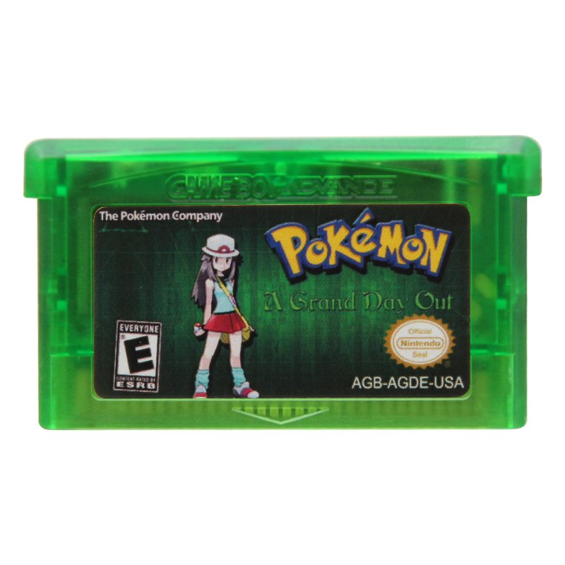 Pokemon A Grand Day Out Advance GBA Cartridge Card Handheld Console US Version