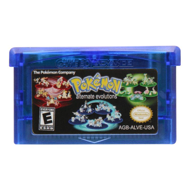 Pokemon Alternate Evolutions Gameboy Advance GBA Cartridge Card US Version