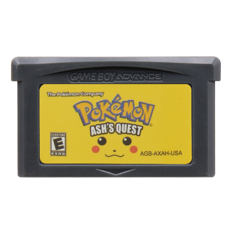 Pokemon Ash's Quest Gameboy Advance GBA Cartridge Card US Version
