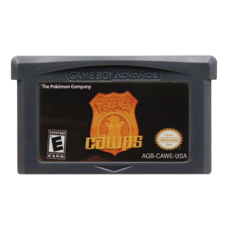 Pokemon Cawps Gameboy Advance GBA Cartridge Card US Version