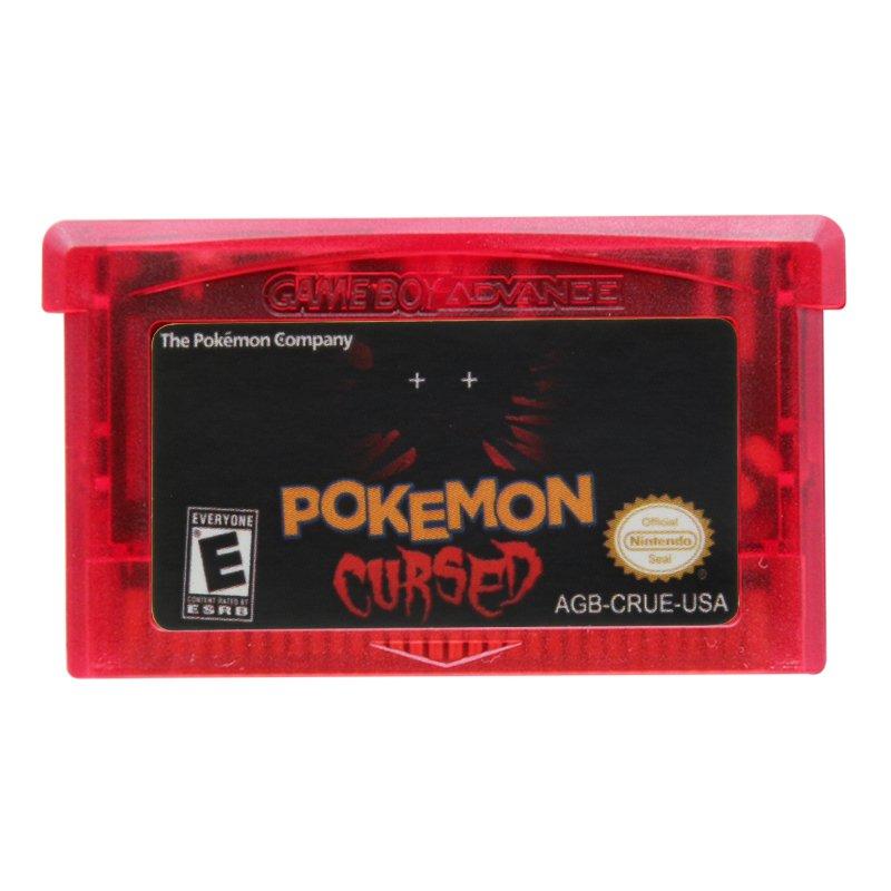Pokemon Cursed Gameboy Advance GBA Cartridge Card US Version
