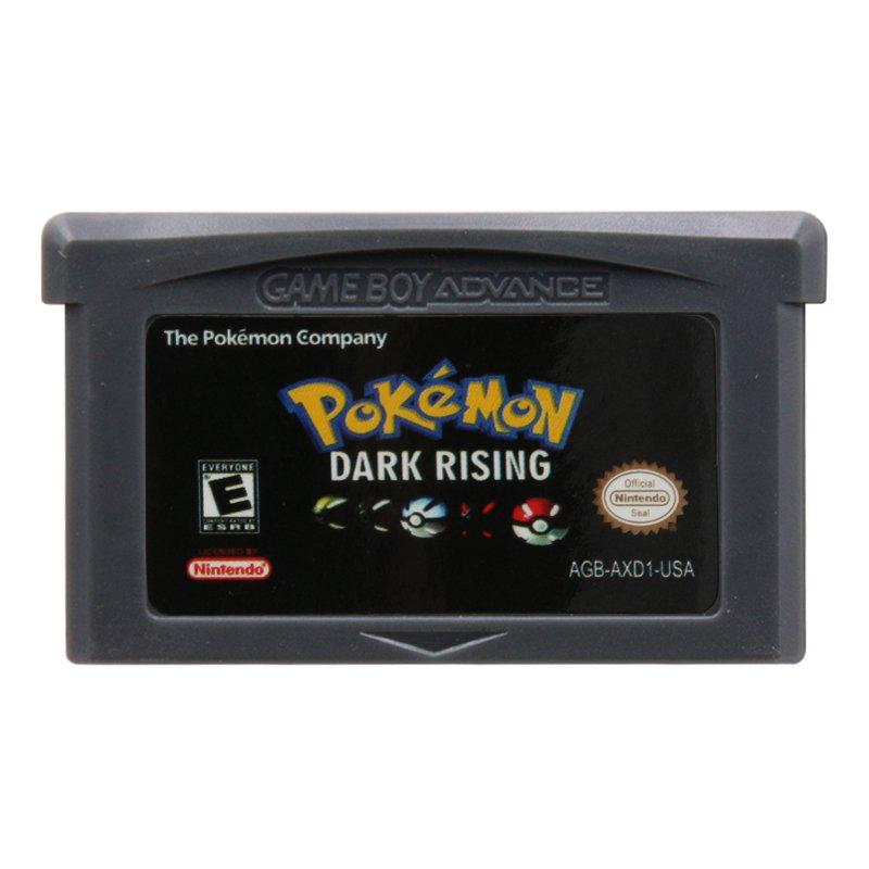 Pokemon Dark Rising Gameboy Advance GBA Cartridge Card US Version