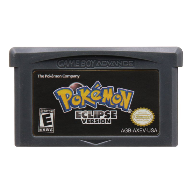 Pokemon Eclipse Version Gameboy Advance GBA Cartridge Card US Version