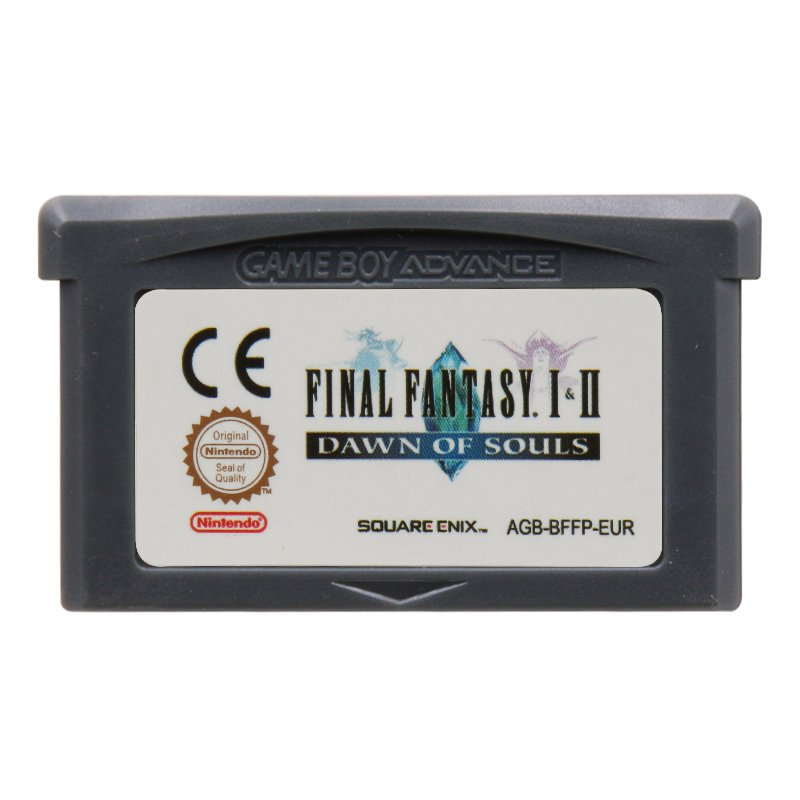 Final Fantasy I & II Dawn of Souls Gameboy Advance GBA Cartridge Card  EUR Version