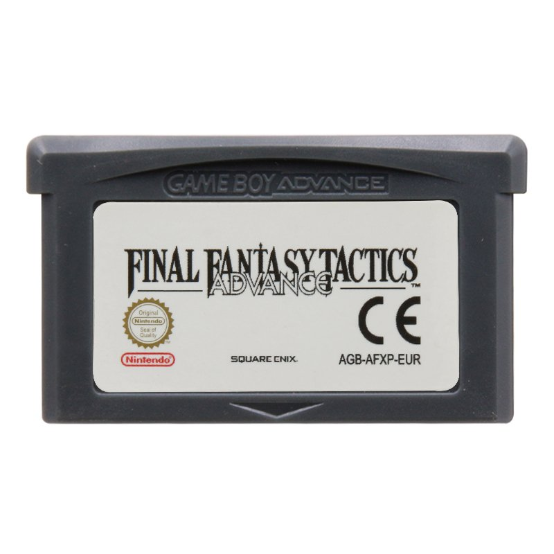 Final Fantasy Tactics Advance Gameboy Advance GBA Cartridge Card  EUR Version