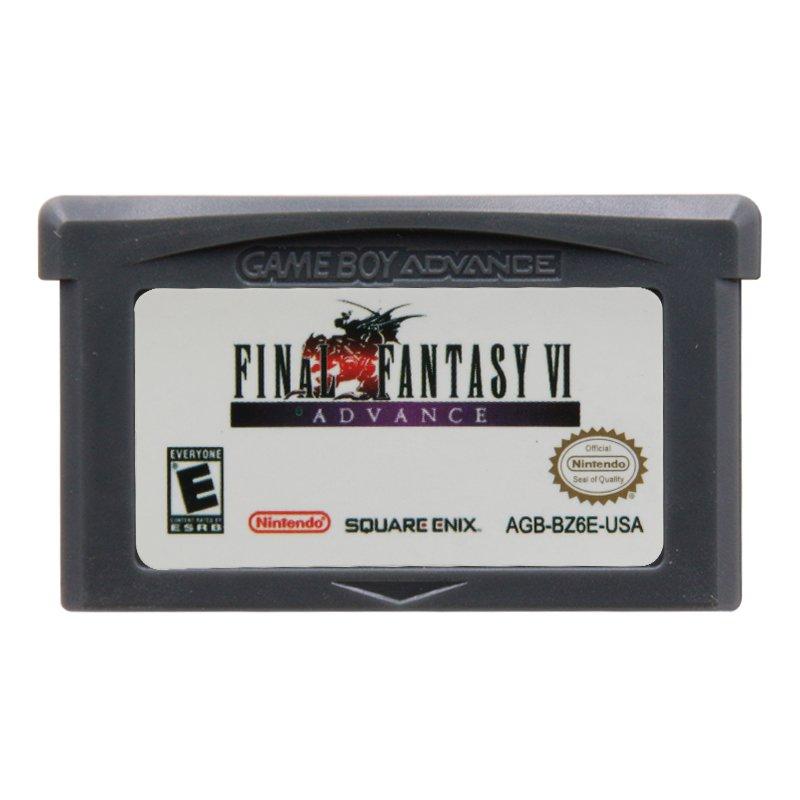 Final Fantasy VI Advance Gameboy Advance GBA Cartridge Card US Version