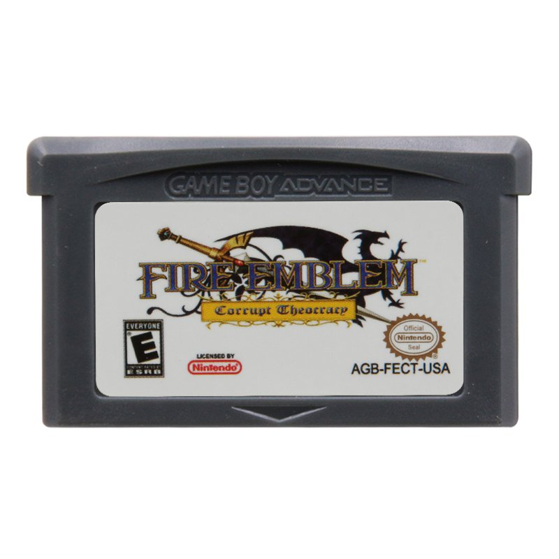 Fire Emblem Corrupt Theocracy Gameboy Advance GBA Cartridge Card US Version