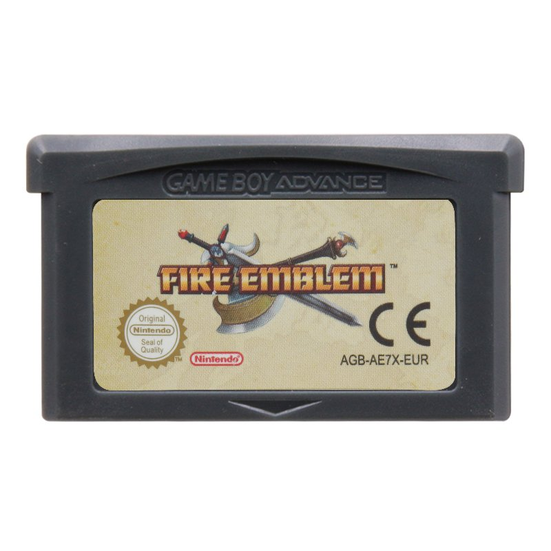 Fire Emblem Gameboy Advance GBA Cartridge Card  EUR Version