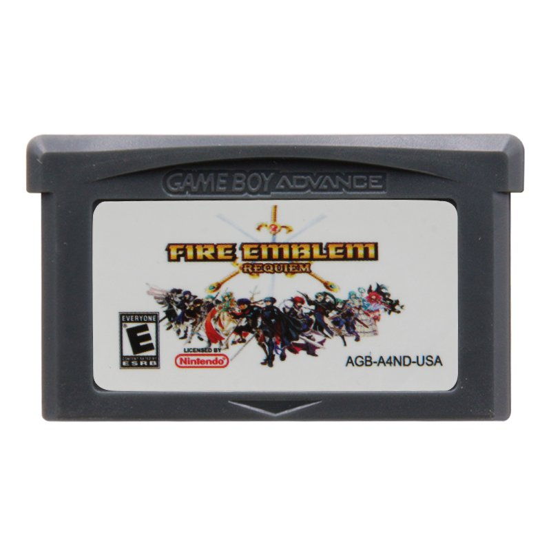 Fire Emblem Requiem Gameboy Advance GBA Cartridge Card US Version