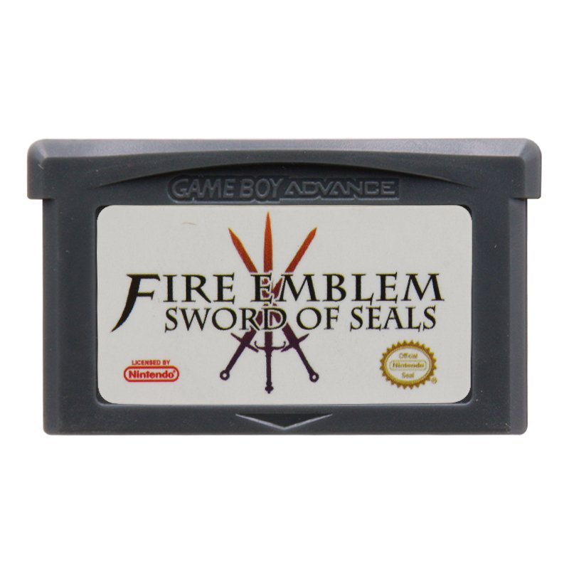 Fire Emblem Sword of Seals Gameboy Advance GBA Cartridge Card US Version