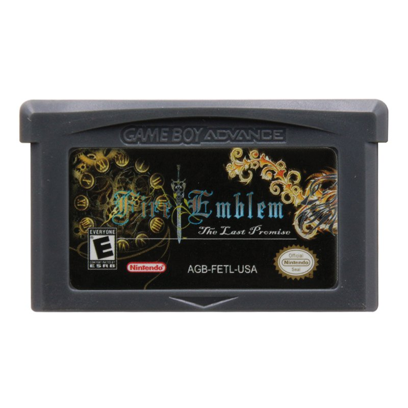 Fire Emblem The Last Promise Gameboy Advance GBA Cartridge Card US Version