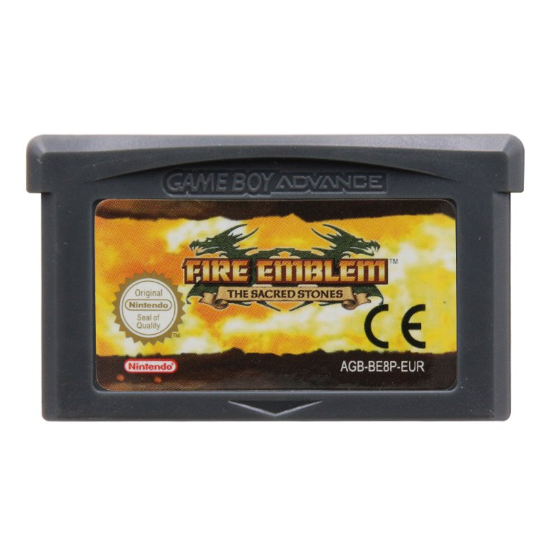 Fire Emblem The Sacred Stones Gameboy Advance GBA Cartridge Card  EUR Version