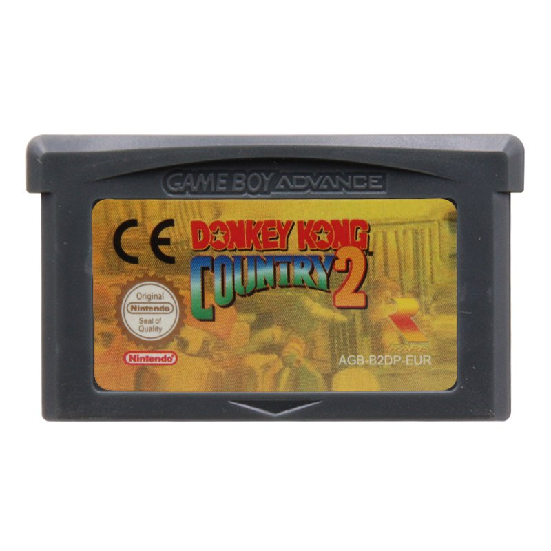 Donkey Kong Country 2 Gameboy Advance GBA Cartridge Card  EUR Version