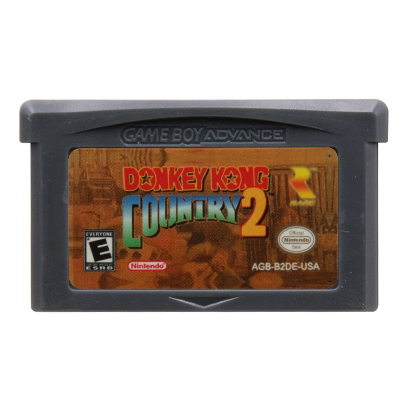 Donkey Kong Country 2 Gameboy Advance GBA Cartridge Card US Version