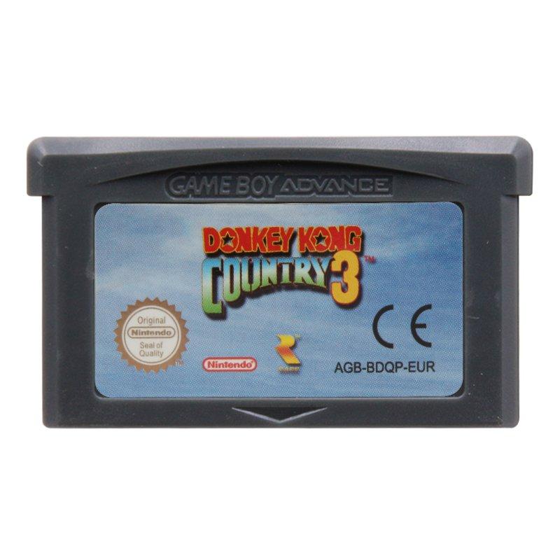 Donkey Kong Country 3 Gameboy Advance GBA Cartridge Card  EUR Version