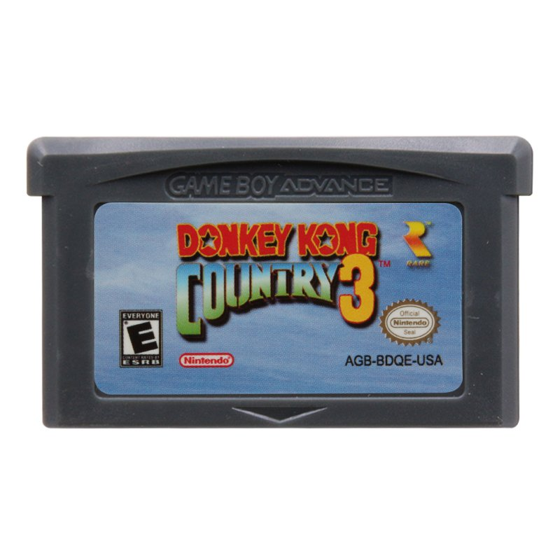 Donkey Kong Country 3 Gameboy Advance GBA Cartridge Card US Version