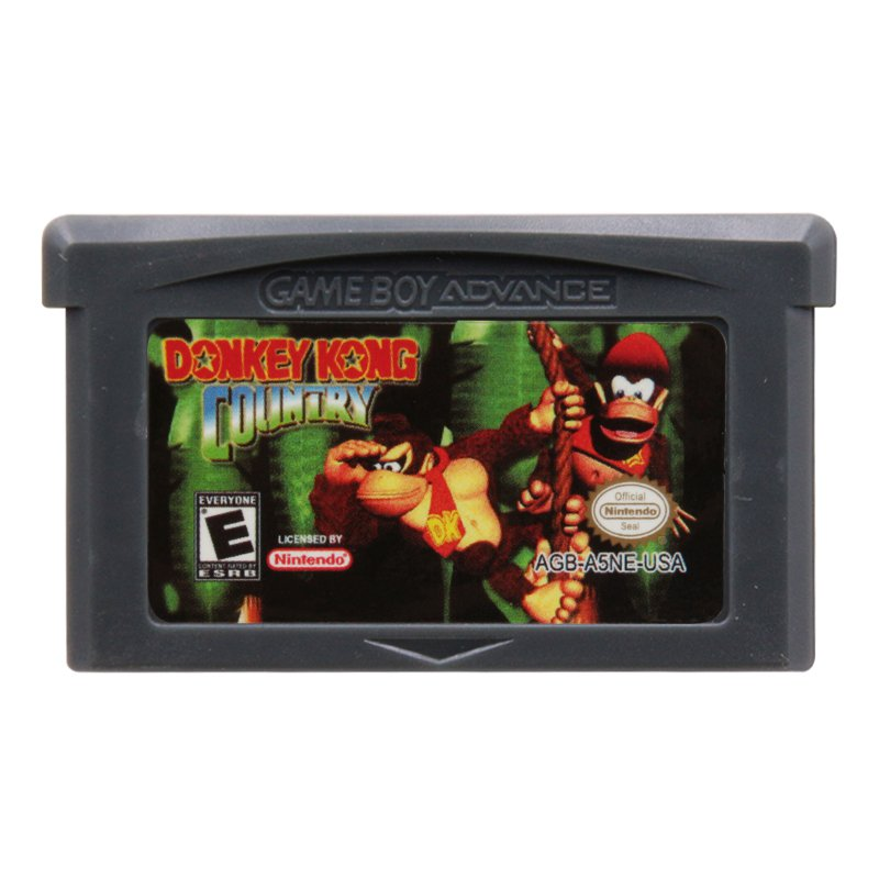 Donkey Kong Country  Gameboy Advance GBA Cartridge Card US Version