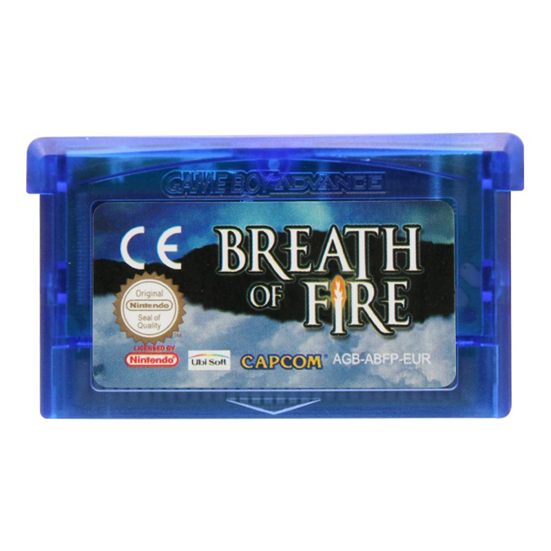 Breath of Fire Gameboy Advance GBA Cartridge Card  EUR Version