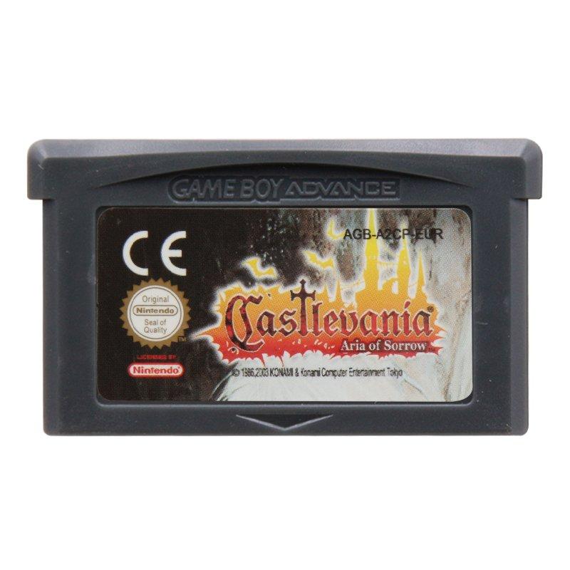 Castlevania Asia of Sorrow Gameboy Advance GBA Cartridge Card  EUR Version