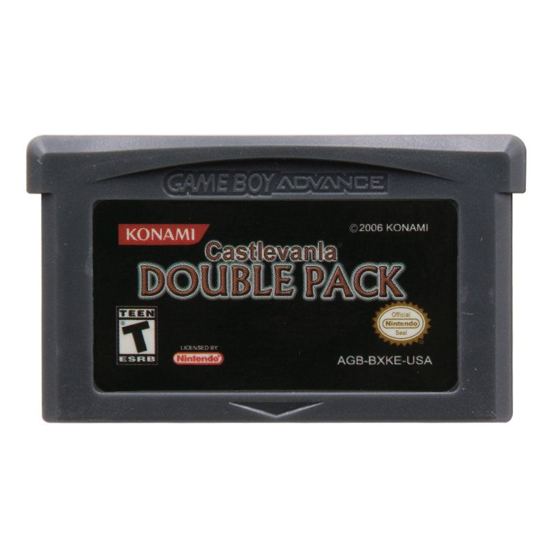 Castlevania Double Pack Gameboy Advance GBA Cartridge Card US Version