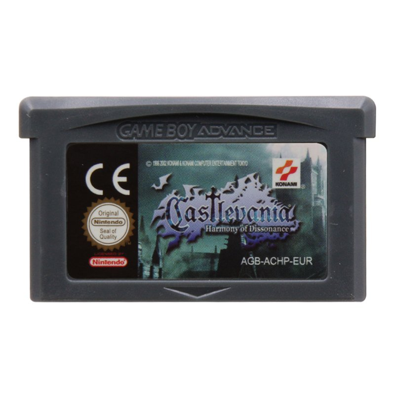 Castlevania Harmony of Dissonance Gameboy Advance GBA Cartridge EUR Version