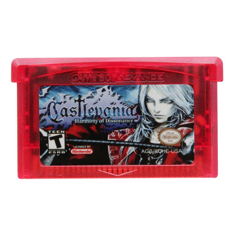 Castlevania Harmony of Dissonance Gameboy Advance GBA Cartridge Card US Version