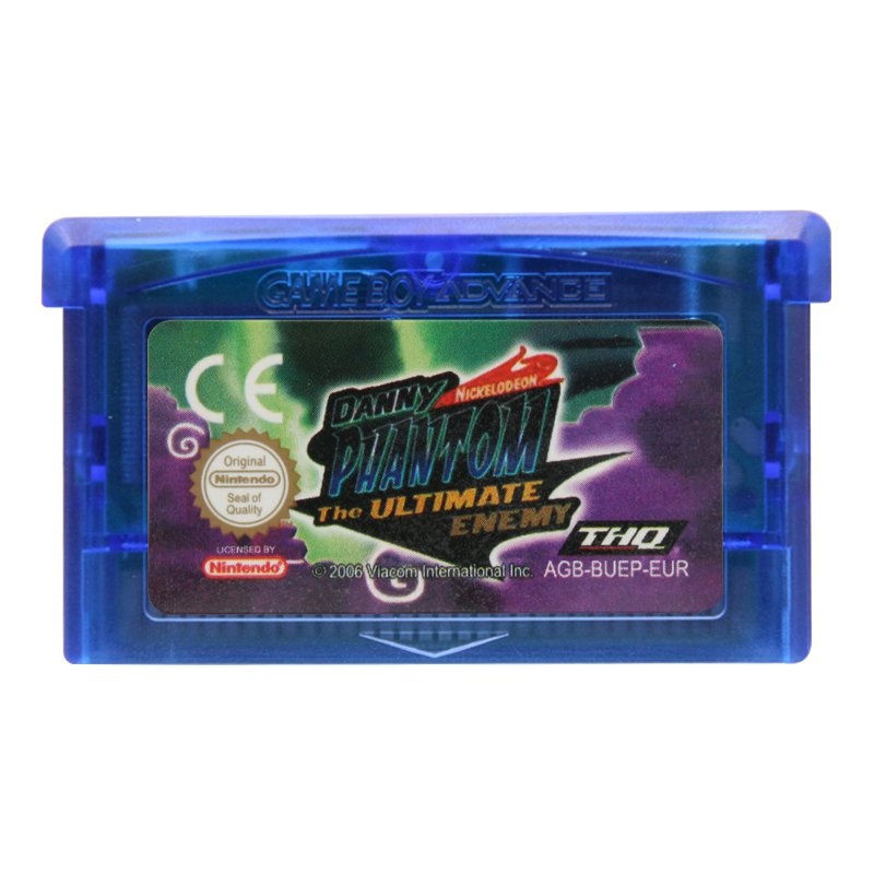 Danny Phantom-The Ultimate Enemy Gameboy Advance GBA Cartridge EUR Version