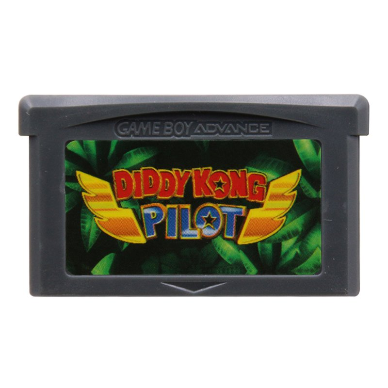 Diddy Kong Pilot Advance GBA Cartridge Card US Version