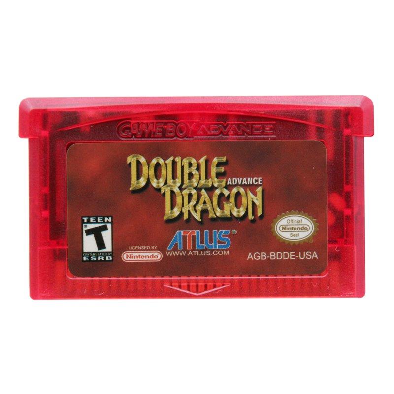 Double Dragon Advance Gameboy Advance GBA Cartridge Card US Version