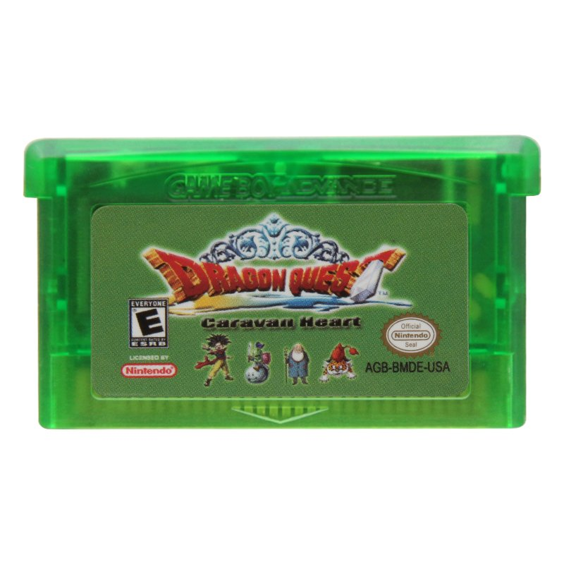 Dragon Quest Monsters Caravan Heart GBA Cartridge Card US Version