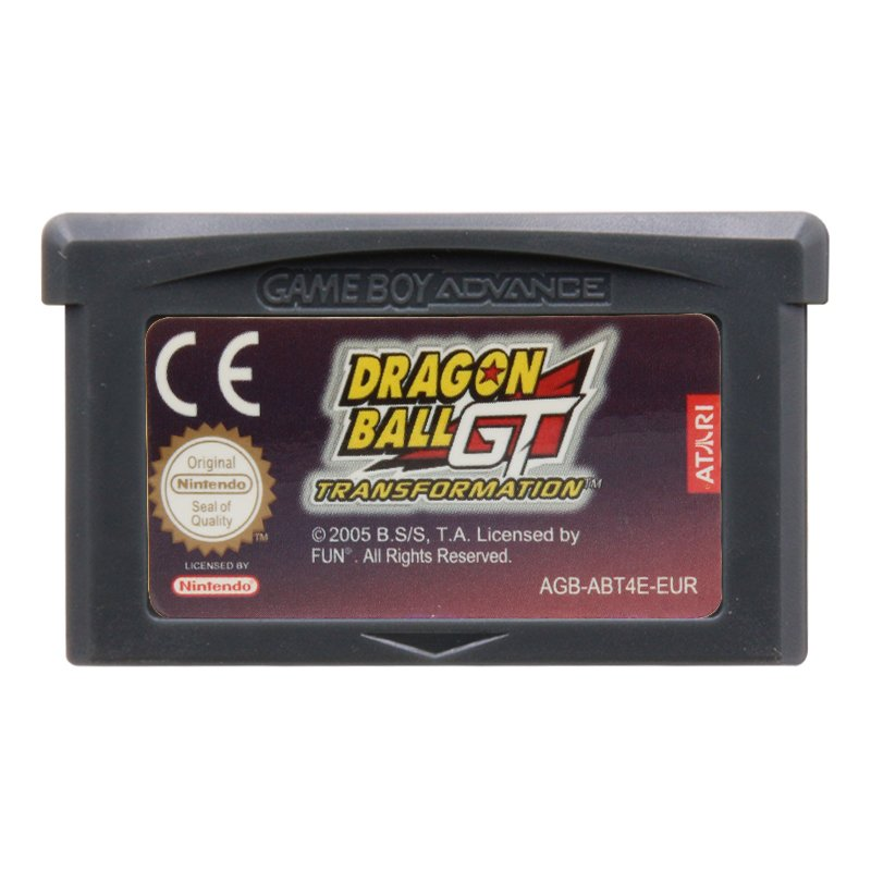 Dragonball GT Transformation Gameboy Advance GBA Cartridge EUR Version
