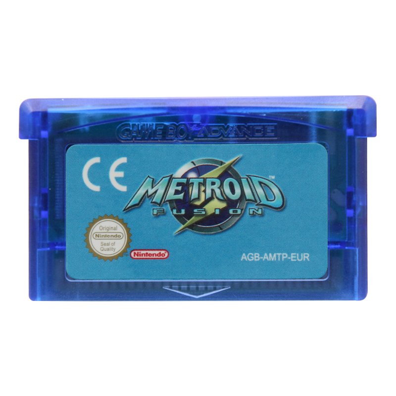 Metroid Fusion Gameboy Advance GBA Cartridge EUR Version