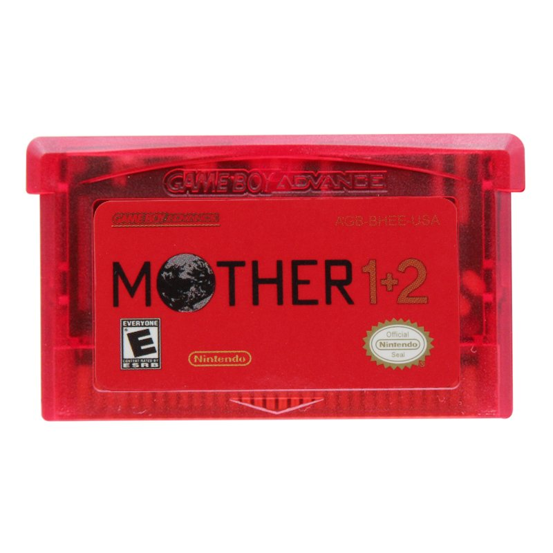 Mother 1+2 Gameboy Advance GBA Cartridge Card US Version