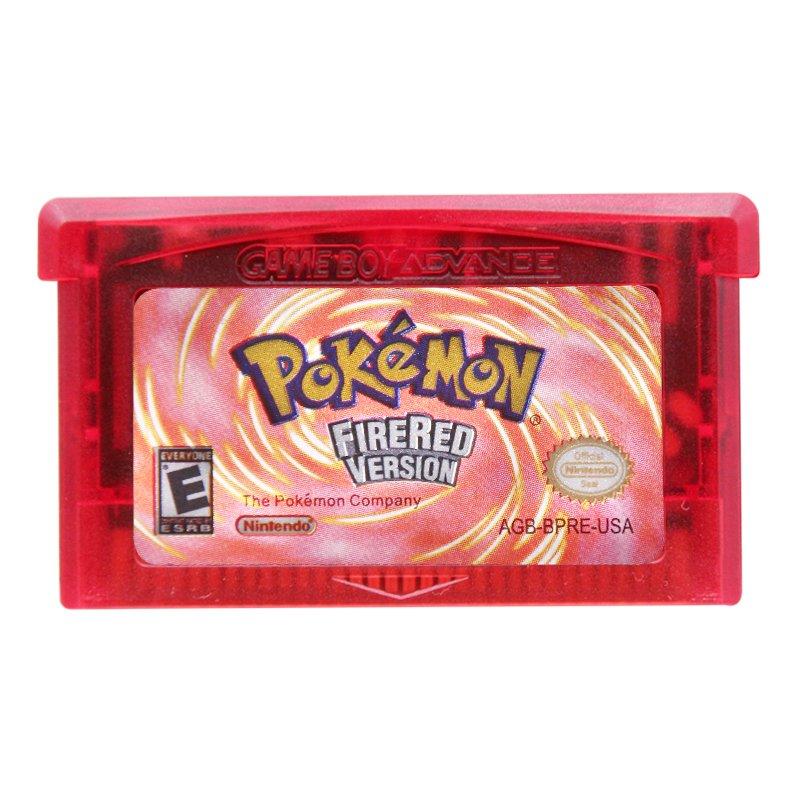 Pokemon Fire Red Version Gameboy Advance GBA Cartridge Card US Version