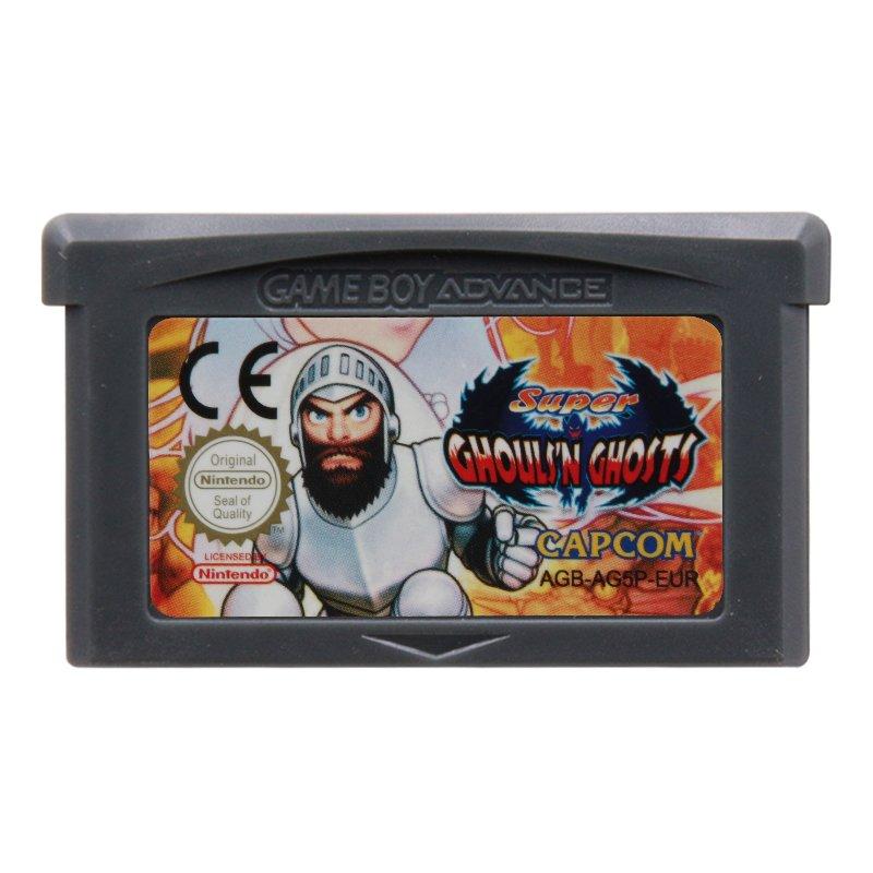 Super Ghouls N Ghosts Gameboy Advance GBA Cartridge EUR Version